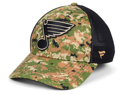 St. Louis Blues NHL Military Appreciation Speed Flex Cap