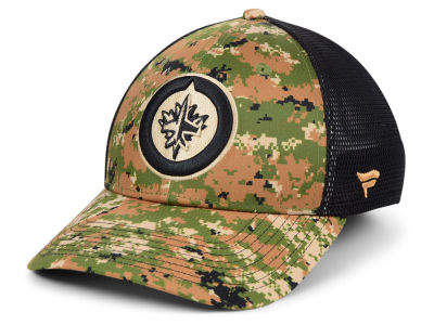 Winnipeg Jets NHL Military Appreciation Speed Flex Cap