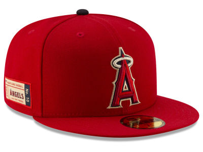 Los Angeles Angels New Era MLB Ticket Stub Moments 59FIFTY Cap