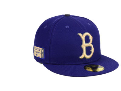 Brooklyn Dodgers New Era MLB Ticket Stub Moments 59FIFTY Cap
