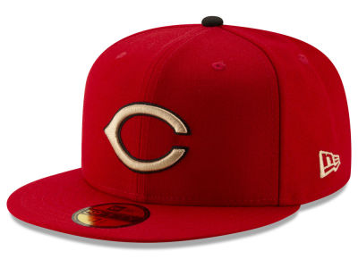 Cincinnati Reds New Era MLB Ticket Stub Moments 59FIFTY Cap