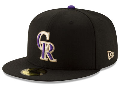 Colorado Rockies New Era MLB Ticket Stub Moments 59FIFTY Cap