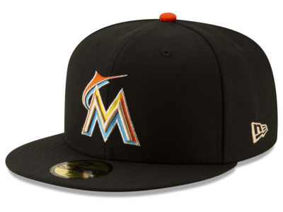 Miami Marlins New Era MLB Ticket Stub Moments 59FIFTY Cap