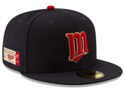 Minnesota Twins New Era MLB Ticket Stub Moments 59FIFTY Cap