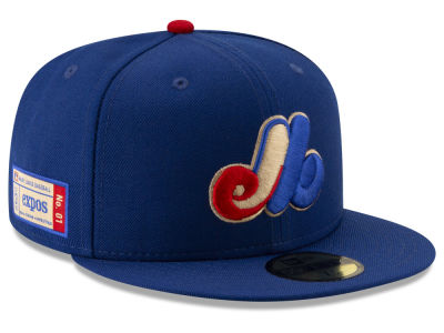 Montreal Expos New Era MLB Ticket Stub Moments 59FIFTY Cap