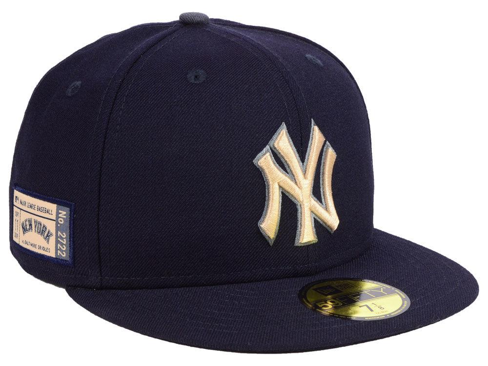 6169b8892e7 New York Yankees New Era MLB Ticket Stub Moments 59FIFTY Cap