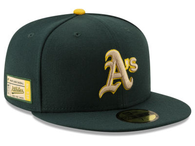 Oakland Athletics New Era MLB Ticket Stub Moments 59FIFTY Cap