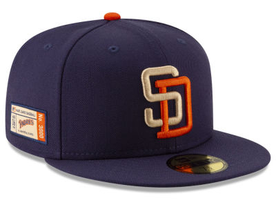 San Diego Padres New Era MLB Ticket Stub Moments 59FIFTY Cap