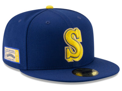 Seattle Mariners New Era MLB Ticket Stub Moments 59FIFTY Cap
