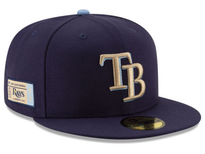 Tampa Bay Rays New Era MLB Ticket Stub Moments 59FIFTY Cap
