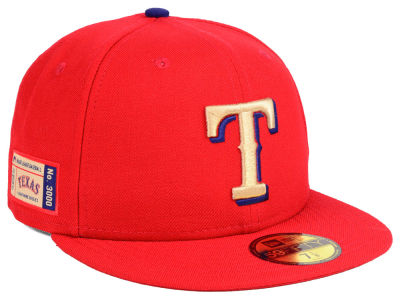 Texas Rangers New Era MLB Ticket Stub Moments 59FIFTY Cap