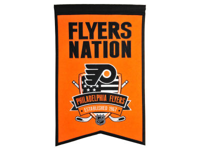 philadelphia flyers nhl flags banners