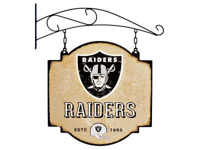 Oakland Raiders Winning Streak Tavern Sign