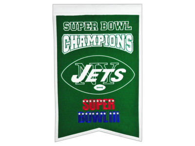 New York Jets Winning Streak Champs Banner