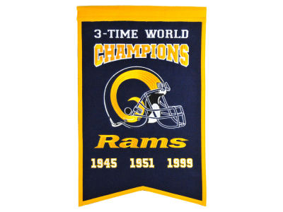 Los Angeles Rams Winning Streak Champs Banner