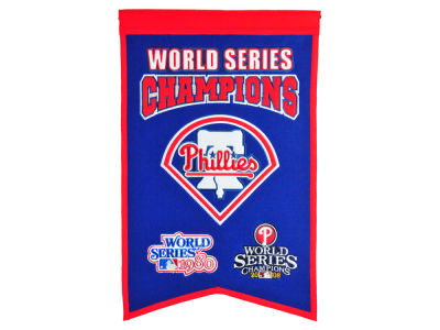 Philadelphia Phillies Winning Streak Champs Banner