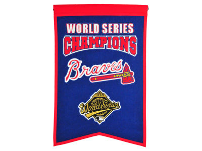 Atlanta Braves Winning Streak Champs Banner