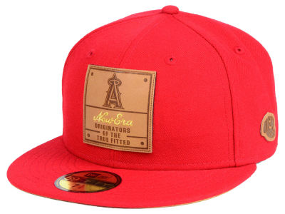 Los Angeles Angels New Era MLB Vintage Team Color 59FIFTY Cap
