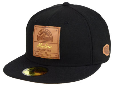 Colorado Rockies New Era MLB Vintage Team Color 59FIFTY Cap