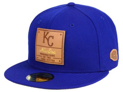 Kansas City Royals New Era MLB Vintage Team Color 59FIFTY Cap