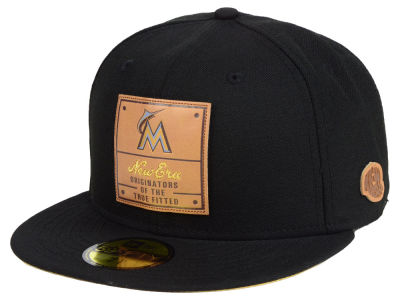 Miami Marlins New Era MLB Vintage Team Color 59FIFTY Cap