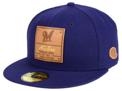 Milwaukee Brewers New Era MLB Vintage Team Color 59FIFTY Cap