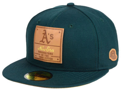 Oakland Athletics New Era MLB Vintage Team Color 59FIFTY Cap