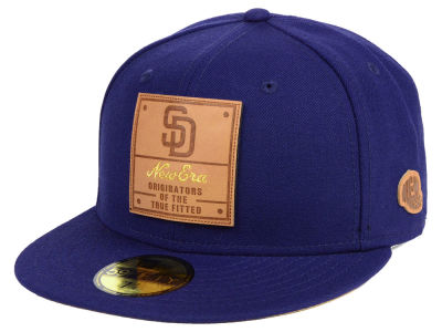 San Diego Padres New Era MLB Vintage Team Color 59FIFTY Cap