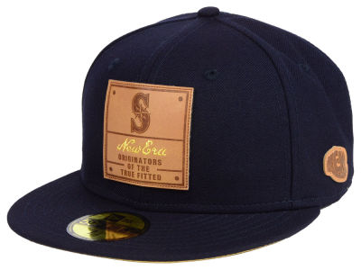 Seattle Mariners New Era MLB Vintage Team Color 59FIFTY Cap
