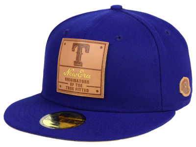 Texas Rangers New Era MLB Vintage Team Color 59FIFTY Cap