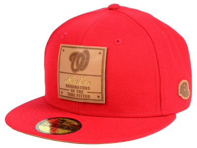 Washington Nationals New Era MLB Vintage Team Color 59FIFTY Cap
