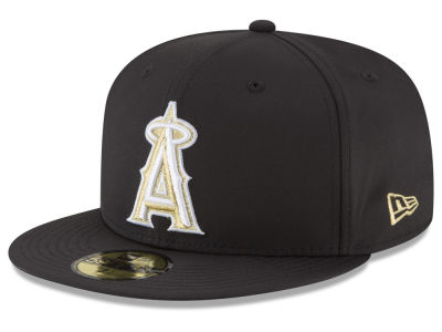 Los Angeles Angels New Era MLB Gold Out 59FIFTY Cap