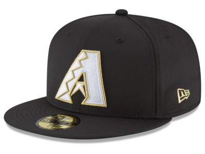 Arizona Diamondbacks New Era MLB Gold Out 59FIFTY Cap