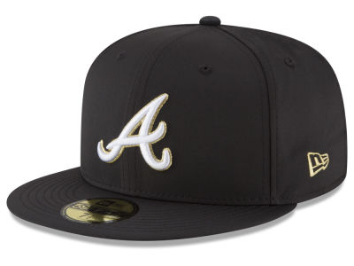 Atlanta Braves New Era MLB Gold Out 59FIFTY Cap