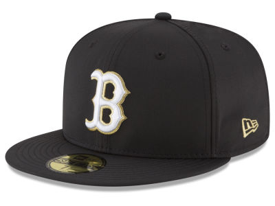 Boston Red Sox New Era MLB Gold Out 59FIFTY Cap