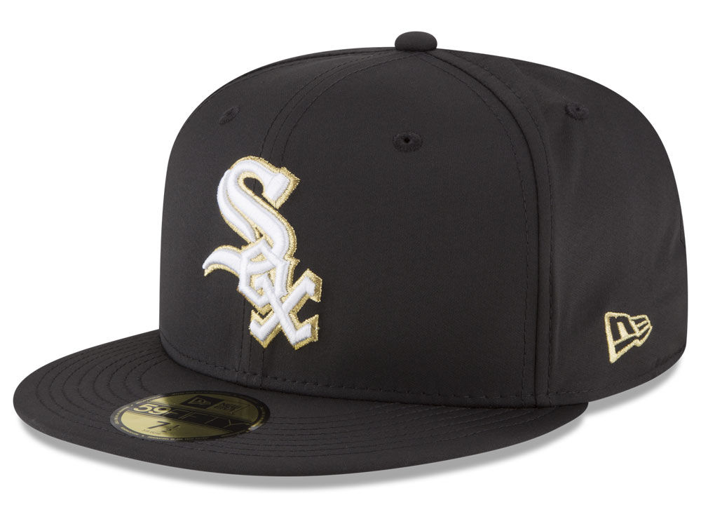 b7cab0d46c9 Chicago White Sox New Era MLB Gold Out 59FIFTY Cap