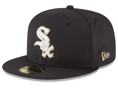 Chicago White Sox New Era MLB Gold Out 59FIFTY Cap