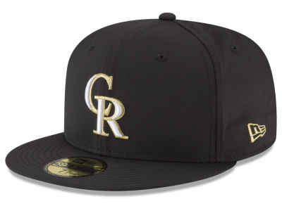 Colorado Rockies New Era MLB Gold Out 59FIFTY Cap