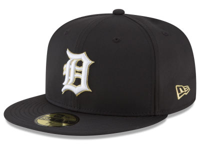 Detroit Tigers New Era MLB Gold Out 59FIFTY Cap