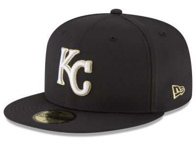 Kansas City Royals New Era MLB Gold Out 59FIFTY Cap