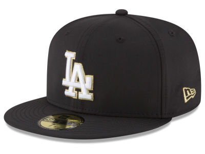 Los Angeles Dodgers New Era MLB Gold Out 59FIFTY Cap