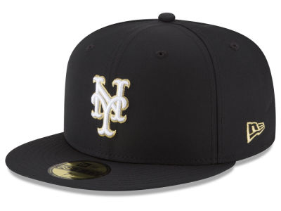 New York Mets New Era MLB Gold Out 59FIFTY Cap