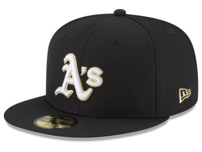 Oakland Athletics New Era MLB Gold Out 59FIFTY Cap