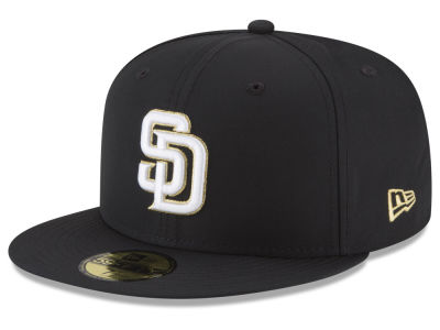 San Diego Padres New Era MLB Gold Out 59FIFTY Cap