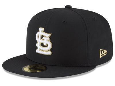 St. Louis Cardinals New Era MLB Gold Out 59FIFTY Cap