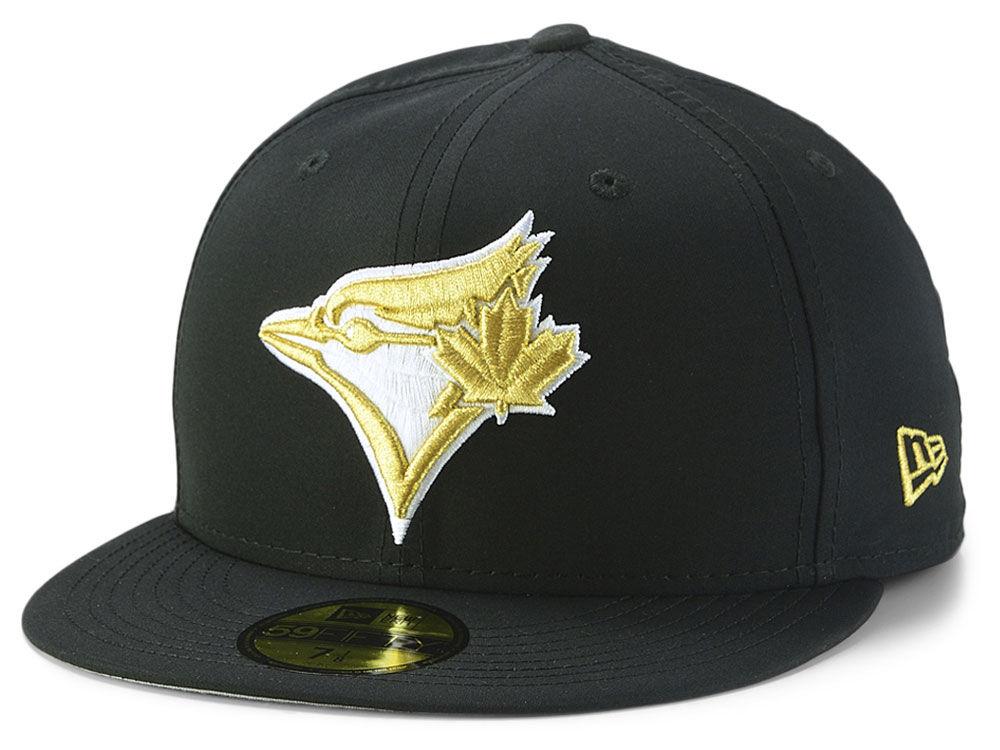 online store 7c6de d640e ... sale toronto blue jays new era mlb gold out 59fifty cap lids 331c8 d66e4