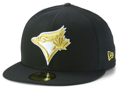 Toronto Blue Jays New Era MLB Gold Out 59FIFTY Cap