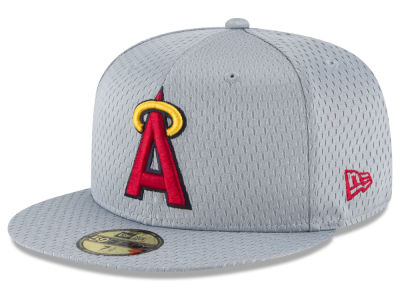 Los Angeles Angels New Era MLB Batting Practice Mesh 59FIFTY Cap