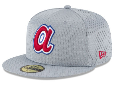 Atlanta Braves New Era MLB Batting Practice Mesh 59FIFTY Cap