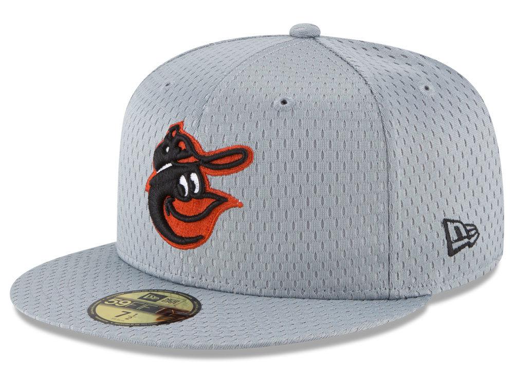 Baltimore Orioles New Era MLB Batting Practice Mesh 59FIFTY Cap ... 2988c8d398b